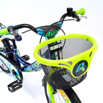 "4KIDS Mongo 20"" dydis 10"" (25cm) (plieninis, mėlyna/žalia)"