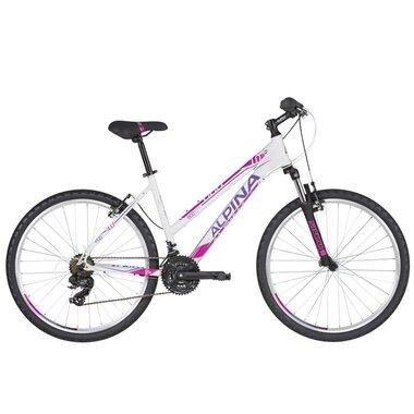 """ALPINA Eco LM10 26"""" dydis 16"""" (40cm) (balta/violetinė/rožinė)"""
