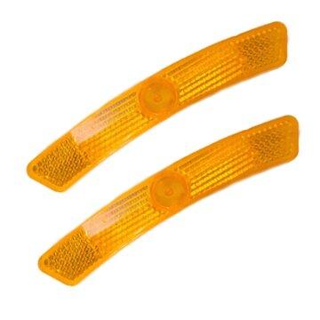 Atšvaitas stipinams geltonas prisukamas ilgas J90 (pora)