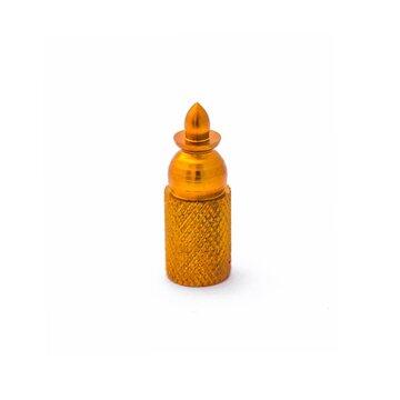 AV (mašininio) ventilio užsukimas - kulka (aliuminis, oranžinis)