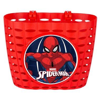Dviračio krepšys ant vairo Disney Spiderman (raudonas)