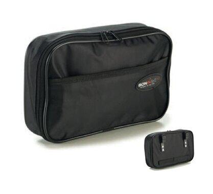 Krepšys ant bagažinės BONIN 28x5x17cm vienpusis su kabliukais