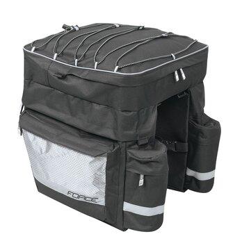 Krepšys ant bagažinės FORCE Target 32l (juodas)