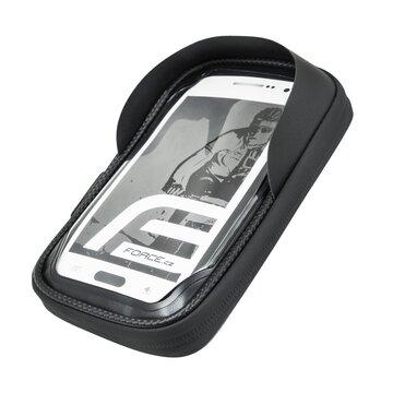 Krepšelis ant vairo iškyšos su telefono laikikliu FORCE Touch