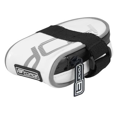 Krepšelis FORCE Ride Minipac velcro sistema (balta)