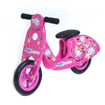 """Balansinis dviratis KidZamo Flame 10"""" (rožinis)"""