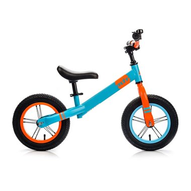 """Balansinis dviratis METEOR 12"""" (mėlyna/oranžinė)"""