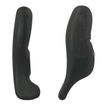 Vairo galai FORCE Rab 12cm (aliuminis+guma, juodi)