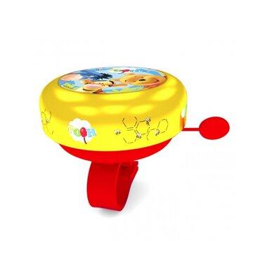 Dviračio skambutis BONIN Winnie the Pooh (geltonas)
