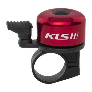 Dviračio skambutis KLS Bang 10 (raudona)