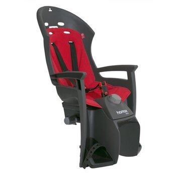 Dviračio kėdutė HAMAX Siesta Plus, reguliuojama, max 22kg (pilka)