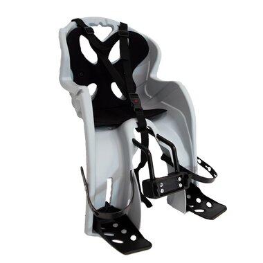 Dviračio kėdutė  'NFUN SIMPATICO priekinė ant rėmo 15kg (pilka/juoda)