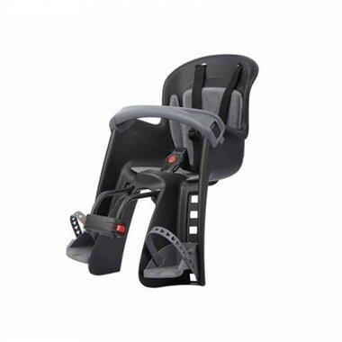 Dviračio kėdutė Polisport Bilby priekinė ant vairo 15kg (juoda/pilka)