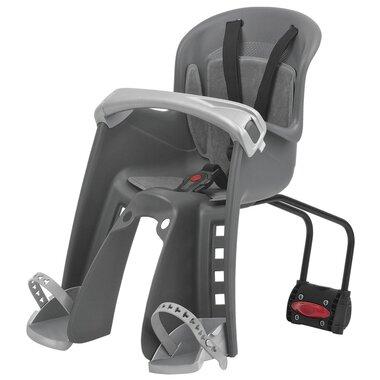 Dviračio kėdutė Polisport Bilby Junior FF priekyje  (juoda/pilka)