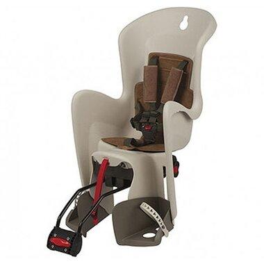 Dviračio kėdutė Polisport Bilby RS ant rėmo (kreminė/ruda)