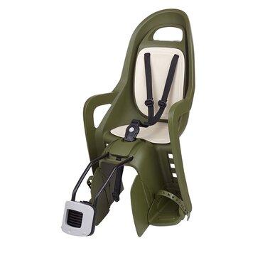 Dviračio kėdutė Polisport Groovy FF ant rėmo 22kg (žalia/kreminė)