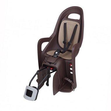Dviračio kėdutė Polisport Groovy RS+, ant rėmo (ruda)
