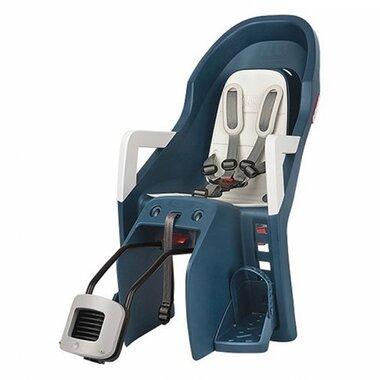 Dviračio kėdutė Polisport Guppy Maxi + RS, ant rėmo (mėlyna)