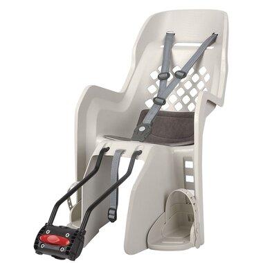 """Dviračio kėdutė Polisport Joy 29"""" ant rėmo 22kg (kreminė/pilka)"""