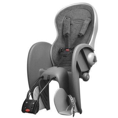 Dviračio kėdutė  Polisport Wallaby ant rėmo 22kg (pilka/sidabrinė)