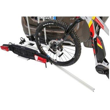 Dviračio laikiklis ZEPHYR E-BIKE ant kablio 2 dviračiams (aliuminis)