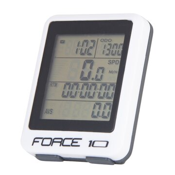 Kompiuteris FORCE 10 funkcijų, laidinis (baltas)