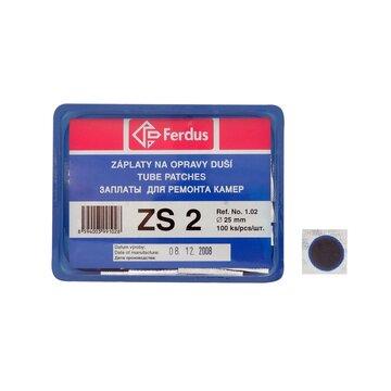Kameros lopai FERDUS ZS2 apvalūs 25mm