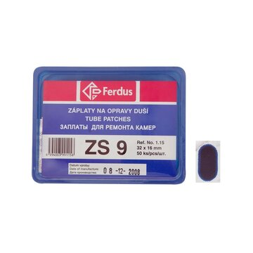 Kameros lopai FERDUS ZS9 ovalūs 32x16mm