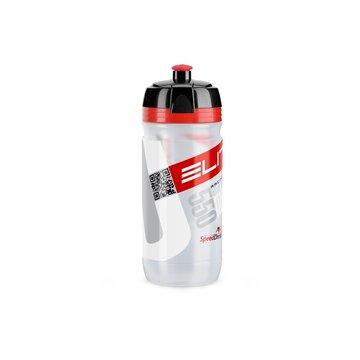 Gertuvė Elite Corsa 550ml (skaidri/raudona)