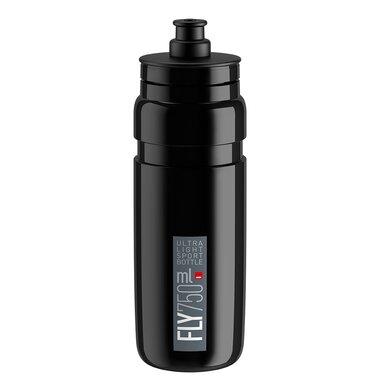 Gertuvė Elite FLY Black 750 ml (juoda/pilkas logo)