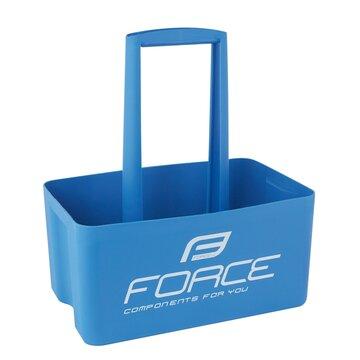 Laikiklis FORCE 6 gertuvėms (plastikinis, mėlynas)