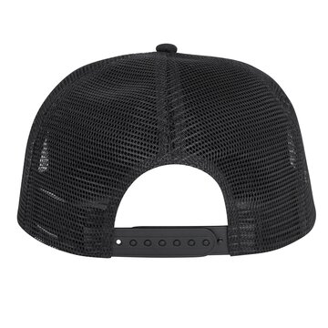 Kepurėlė su snapeliu FORCE Trucker Strap (juoda/balta)