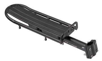 Bagažinė FORCE Carry tvirtinama ant balnelio stovo 25.0-31.6mm (juoda)