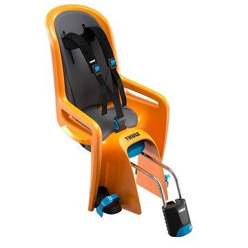Dviračio kėdutė gale ant dviračio rėmo THULE Ride Along max 22kg (oranžinė)
