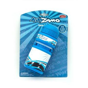 Vaikiška gertuvė su laikikliu KidZamo Star 300ml (balta/mėlyna)