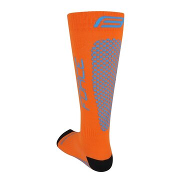 Kojinės FORCE Tessera kompresinės (oranžinė/mėlyna) dydis 36-41 (S-M)