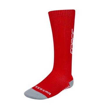 Kojinės FORCE Tessera kompresinės (raudona/balta) dydis 36-41 (S-M)