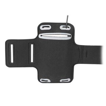 Telefono dėklas/laikiklis ant rankos FORCE (juodas)