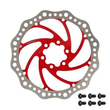 Stabdžių diskas FORCE 180mm, 6 varžtai (raudonas)
