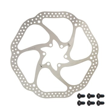 Stabdžių diskas FORCE-3 180 mm, 6 varžtai (sidabrinis)