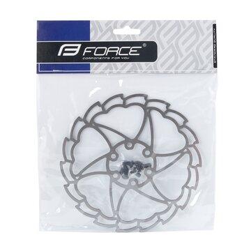 Stabdžių diskas FORCE Light 160 mm, 6 varžtai (sidabrinis)