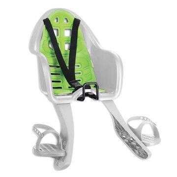 Dviračio kėdutė 'Nfun Sicuro ant dviračio priekio max 15kg (balta/žalia)
