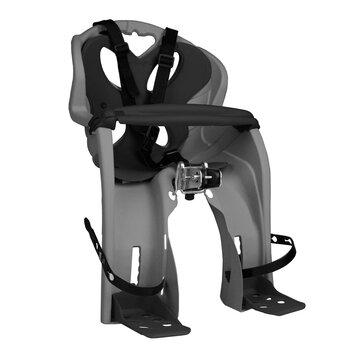 Dviračio kėdutė 'Nfun Simpatico ant dviračio priekio su skersiniu max 15kg (pilka/juoda)