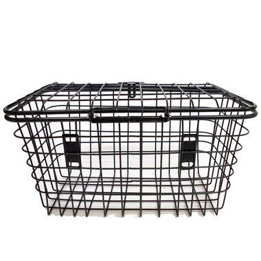 Dviračio krepšys gyvūnams, metalinis, be tvirtinimų