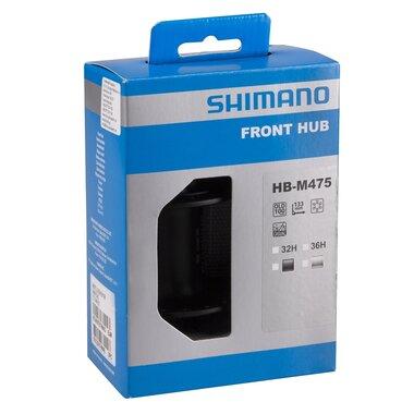 Stebulė priekInė Shimano HBT3000 V-brake 32H su greitveržle (juoda)