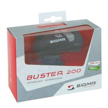 Priekinis žibintas SIGMA Buster USB 200lum