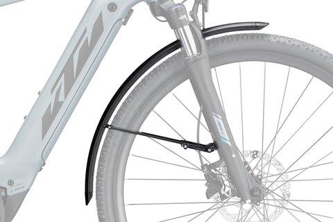 """Priekinis purvasaugis KTM LFC Cross E-bike 28"""" (plastikinis, juodas)"""