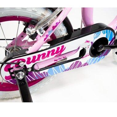 """FUNZY Bunny 14"""" (plieninis, rožinė)"""
