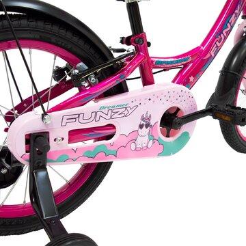 """FUNZY Dreamer 16"""" (plieninis, rožinė)"""