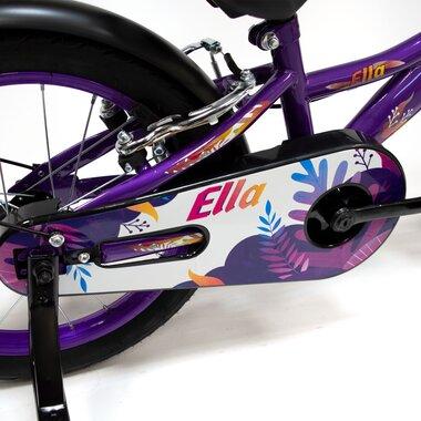 "FUNZY Ella 16"" (plieninis, violetinė/balta)"